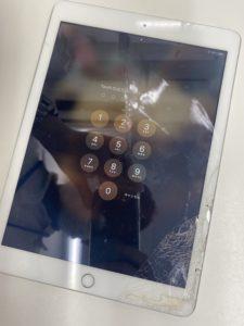 iPad6のガラス割れ!