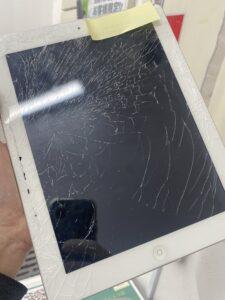 iPad4ガラス割れ
