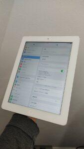 iPad4ガラス割れ修理後
