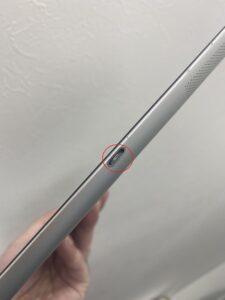 iPadの充電口詰まり