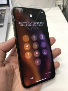 表示装置交換で見事改善したiPhone