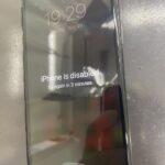 落としたiPhone11proの画面が真っ暗でつかない!?