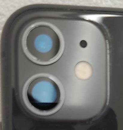 iPhone11の背面カメラ画像