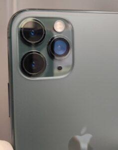 修理完了後のiPhone11Pro画像