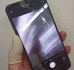 iPhone11ProMaxの画面が割れた! カメラも綺麗に映らない!?