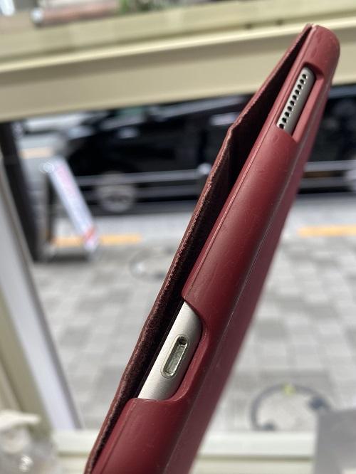iPadの充電口の詰まり!