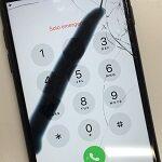 iPhoneの液晶の故障と表示の故障。