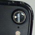 梅雨の前にiPhoneのカメラレンズ割れを修理