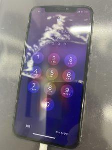 画面の割れを修理したiPhoneXs
